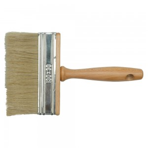 09642/TOYA | Четка баданарка с дървена дръжка, смесен косъм; 150 мм